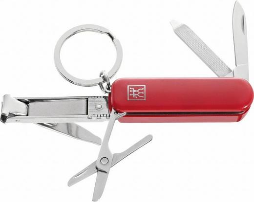 NAGELKNIPSER - Rot, Basics, Kunststoff/Metall - Zwilling