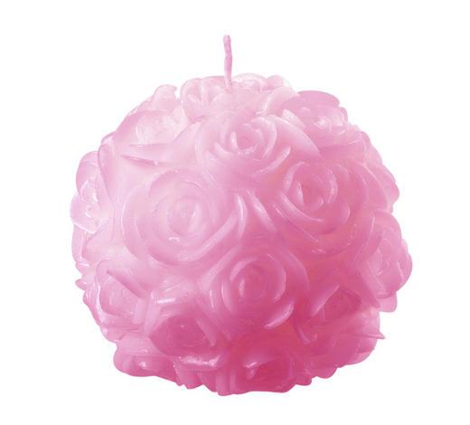 KUGELKERZE 10 cm - Rosa, Basics (10cm) - Ambia Home