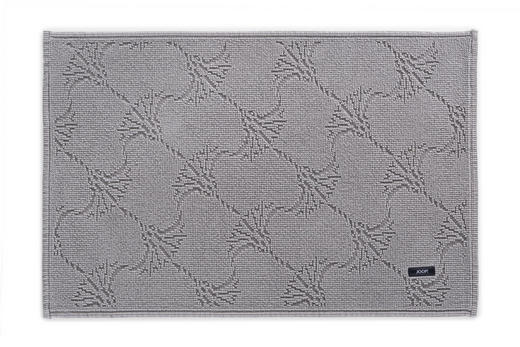 BADTEPPICH in Anthrazit - Anthrazit, Design, Textil (50 70 cm) - Joop!