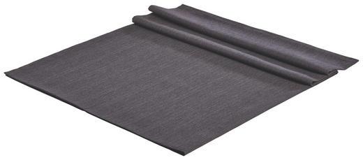 TISCHDECKE Textil Leinwand, Struktur Anthrazit 150/250 cm - Anthrazit, Basics, Textil (150/250cm)