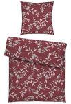 BETTWÄSCHE Biber Rot 155/220 cm  - Rot, KONVENTIONELL, Textil (155/220cm) - Esposa