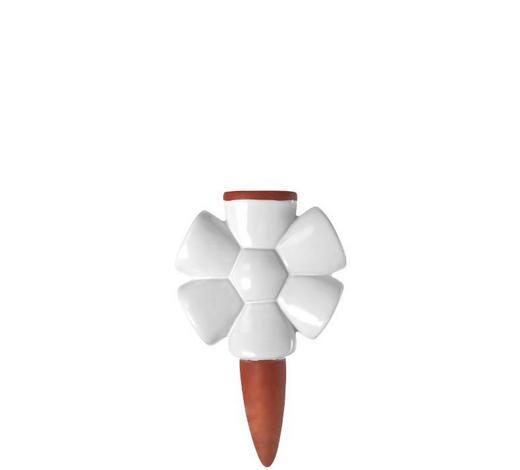 BEWÄSSERUNGSSYSTEM - Terra cotta/Weiß, KONVENTIONELL, Keramik/Weitere Naturmaterialien (11,00/17,70/3,80cm) - Leonardo