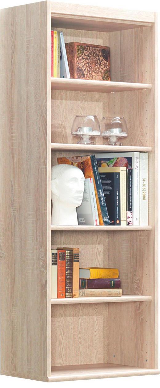 REGAL Eichefarben - Eichefarben, Design, Holzwerkstoff (55/148/36cm) - CS SCHMAL