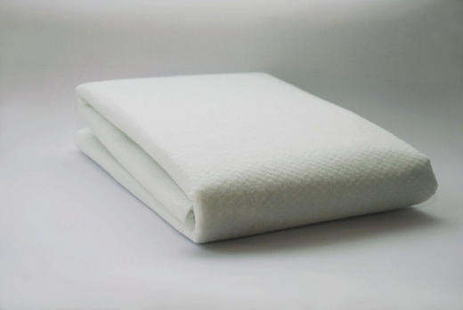 UNTERLAGSMATTE 280/190/0,5 cm - Weiß, Basics, Textil (280/190/0,5cm) - Homeware