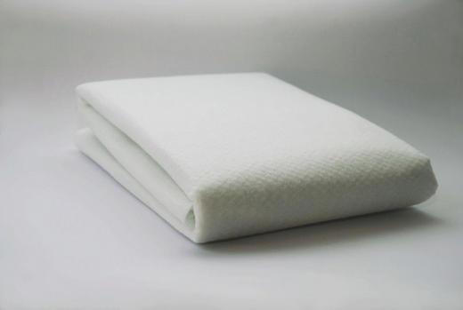UNTERLAGSMATTE 150/80/0,5 cm - Weiß, LIFESTYLE, Textil (150/80/0,5cm) - Homeware