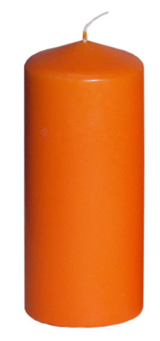 STUMPENKERZE 5,7/13 cm - Orange, Basics (5,7/13cm)