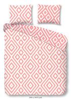 BETTWÄSCHE Renforcé Rosa 135/200 cm - Rosa, Basics, Textil (135/200cm)