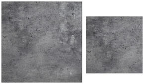 SATSBORD - grå, Design, glas (75/70/43/35/75/70cm)