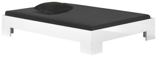 BETT 140/200 cm - Weiß, Design, Holzwerkstoff (140/200cm) - Xora