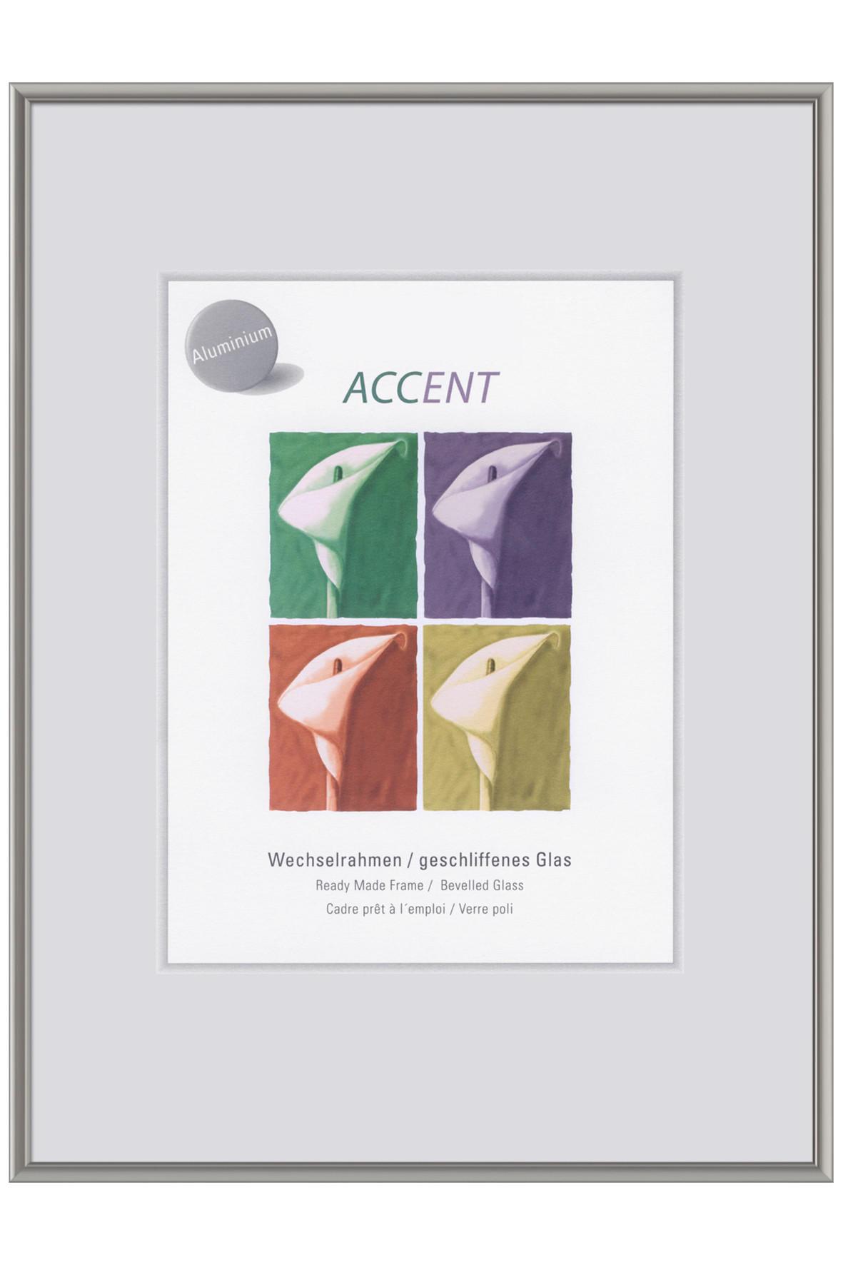 BILDERRAHMEN  Grau - Grau, Metall (40/50cm)
