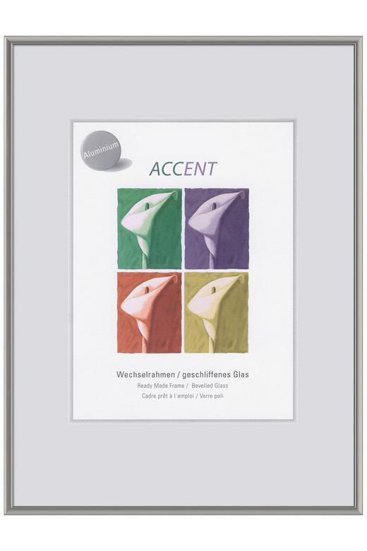 BILDERRAHMEN  Grau - Grau, Metall (15/20cm)