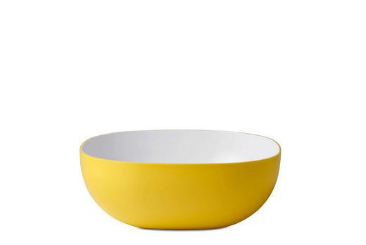 SCHALE Kunststoff - Gelb, Design, Kunststoff (23/23/8,8cm) - Mepal Rosti