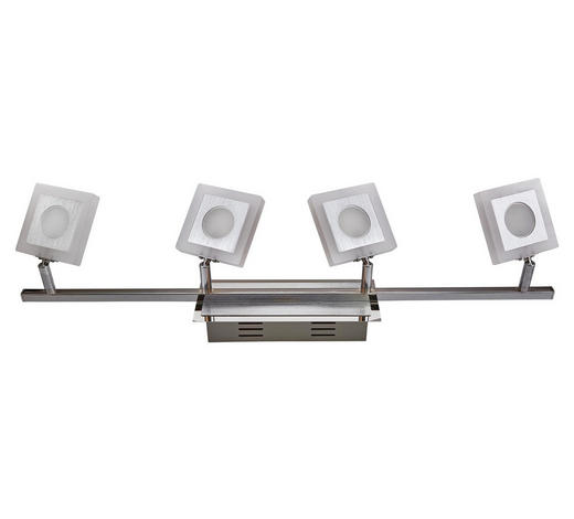 LED-STRAHLER - Chromfarben, Design, Kunststoff/Metall (67,5/8/20cm) - Novel