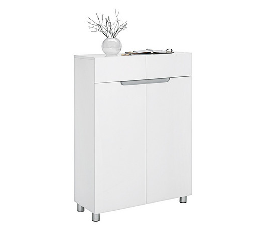 SCHUHSCHRANK Hochglanz, lackiert Grau, Weiß online kaufen ➤ XXXLutz