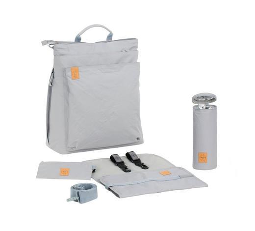 WICKELRUCKSACK  Tyve Backpack - Grau, Basics, Textil (38/18/43cm) - Lässig
