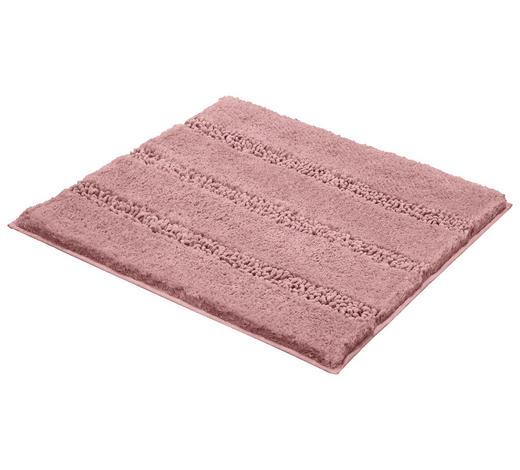 BADTEPPICH in Rosa 60/60 cm - Rosa, KONVENTIONELL, Kunststoff/Textil (60/60cm) - Kleine Wolke