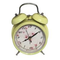 WECKER 11,5/16/5,5 cm - Pink/Beige, Trend, Metall (11,5/16/5,5cm) - Ambia Home