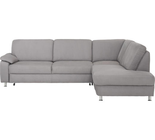 WOHNLANDSCHAFT in Textil Alufarben  - Alufarben, KONVENTIONELL, Textil/Metall (266/202cm) - Beldomo System