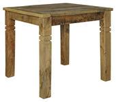 ESSTISCH in Holz 80/80/76 cm   - Braun, MODERN, Holz (80/80/76cm) - Carryhome