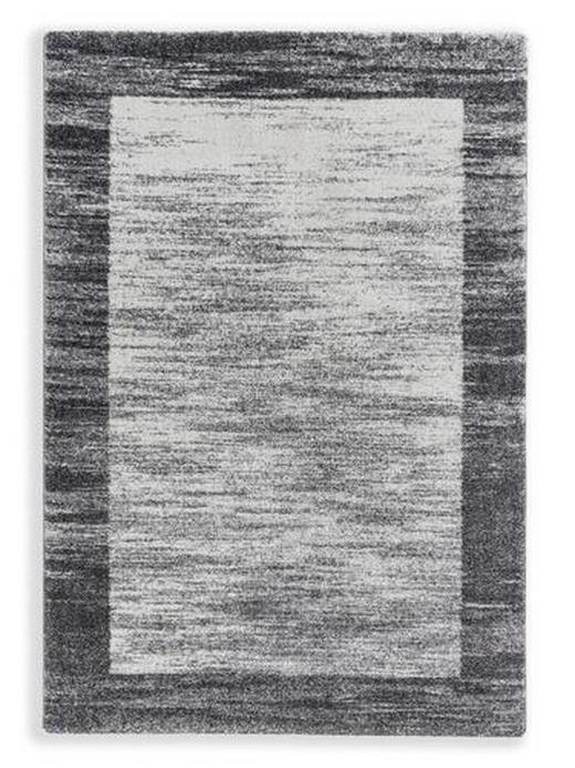 WEBTEPPICH - Silberfarben/Weiß, KONVENTIONELL, Textil (133/190cm) - Schöner Wohnen