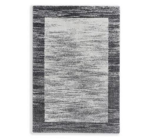 WEBTEPPICH - Silberfarben/Weiß, KONVENTIONELL, Textil (67/130cm) - Schöner Wohnen