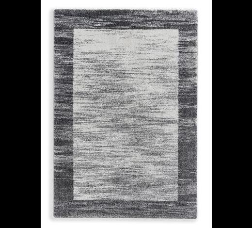 WEBTEPPICH - Silberfarben/Weiß, KONVENTIONELL, Textil (160/230cm) - Schöner Wohnen