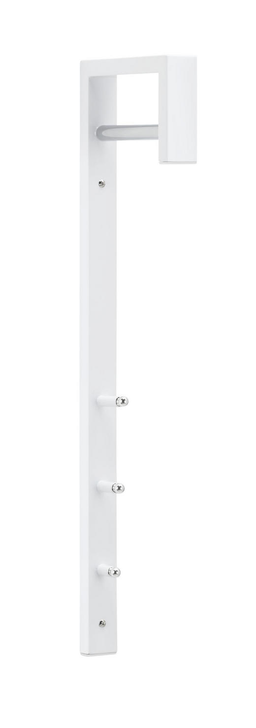 VJEŠALICA - bijela, Design, metal (4/70/20cm) - BOXXX