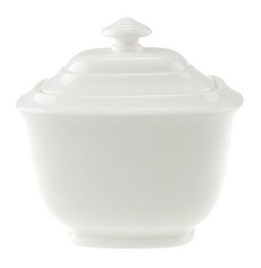 ZUCKERDOSE Keramik - Weiß, Basics, Keramik - VILLEROY & BOCH
