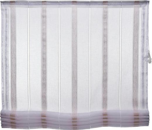 RAFFROLLO   120/170 cm - Naturfarben/Weiß, Basics, Textil (120/170cm) - Esposa