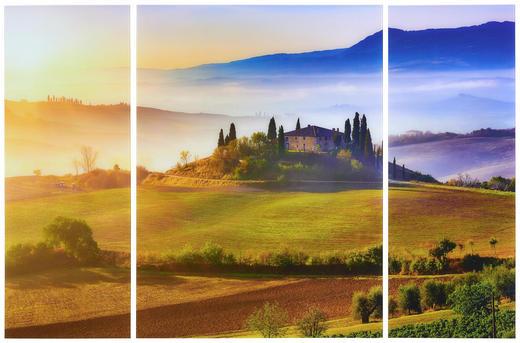 BILDERSET - Multicolor, LIFESTYLE, Glas (120/80/5cm) - Eurographics