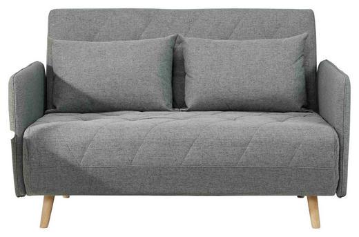 SCHLAFSOFA in Holzwerkstoff, Textil Grau, Naturfarben - Naturfarben/Grau, LIFESTYLE, Holz/Holzwerkstoff (132/81/90cm) - Carryhome