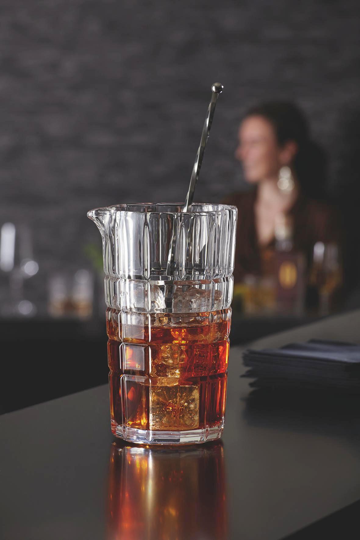 KARAFFE 0,5 l - Edelstahlfarben/Transparent, Basics, Glas/Metall (10,50/16,00/9,10cm) - LEONARDO