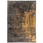 WEBTEPPICH  160/230 cm  Anthrazit, Goldfarben   - Anthrazit/Goldfarben, Design, Textil (160/230cm) - Dieter Knoll