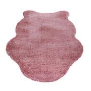 KUNSTFELL - Rosa, Trend, Kunststoff/Textil (60/100cm) - Boxxx