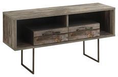 TV-ELEMENT 120/62/42 cm  - Grau, Trend, Holzwerkstoff/Metall (120/62/42cm) - Carryhome