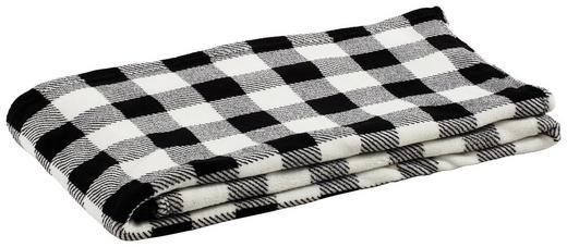WOHNDECKE 160/200 cm Schwarz, Weiß - Schwarz/Weiß, Design, Textil (160/200cm) - Novel