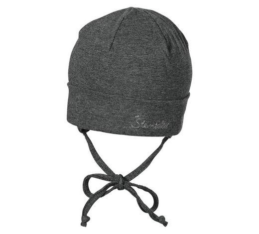 MÜTZE - Dunkelgrau, Basics, Textil (37cm) - Sterntaler