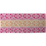 Strandtuch ca. 75/150cm Orange/Pink - Pink/Orange, MODERN, Textil (75/150cm) - Luca Bessoni