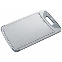 SCHNEIDEBRETT - Grau, Design, Kunststoff (38/25/1cm) - Silit