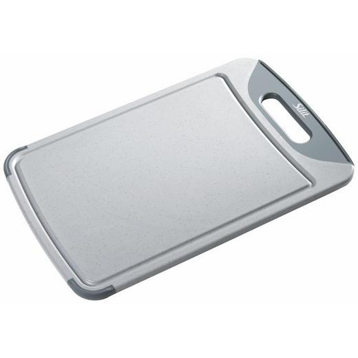 SCHNEIDEBRETT - Grau, Design, Kunststoff (45/30/1cm) - Silit