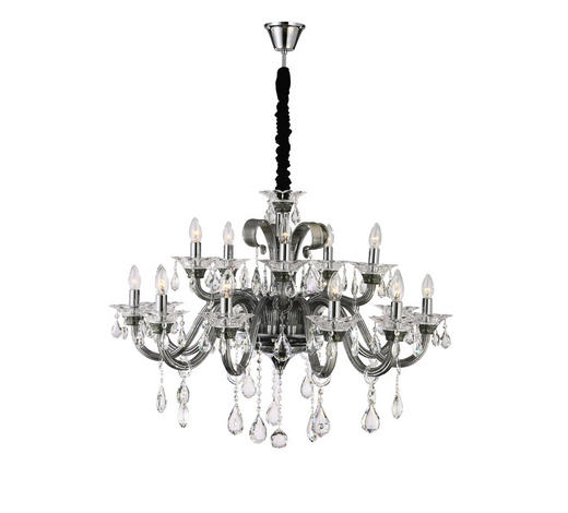 LUSTER  95/134.5 cm      - siva, Lifestyle, staklo/metal (95/134.5cm) - Ambiente