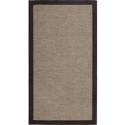 FLACHWEBETEPPICH - Anthrazit, KONVENTIONELL, Textil (190/280cm) - Linea Natura