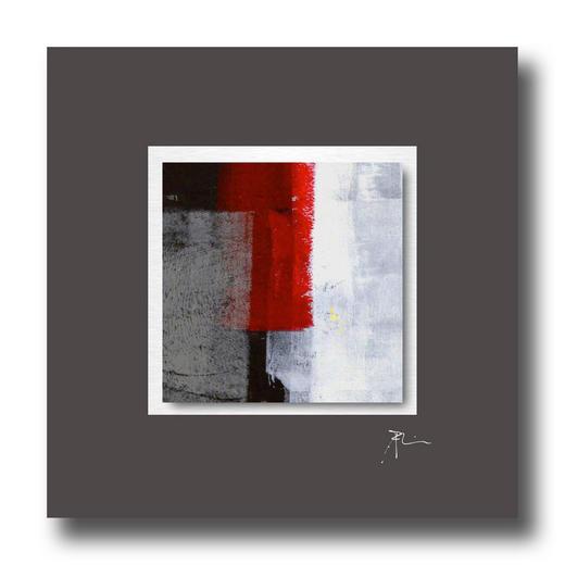 Abstraktes BILD - Design, Metall (50/50cm) - Wiedemann