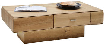 COUCHTISCH Wildeiche massiv rechteckig Eichefarben - Eichefarben, Design, Holz (120/70/39cm) - Valnatura