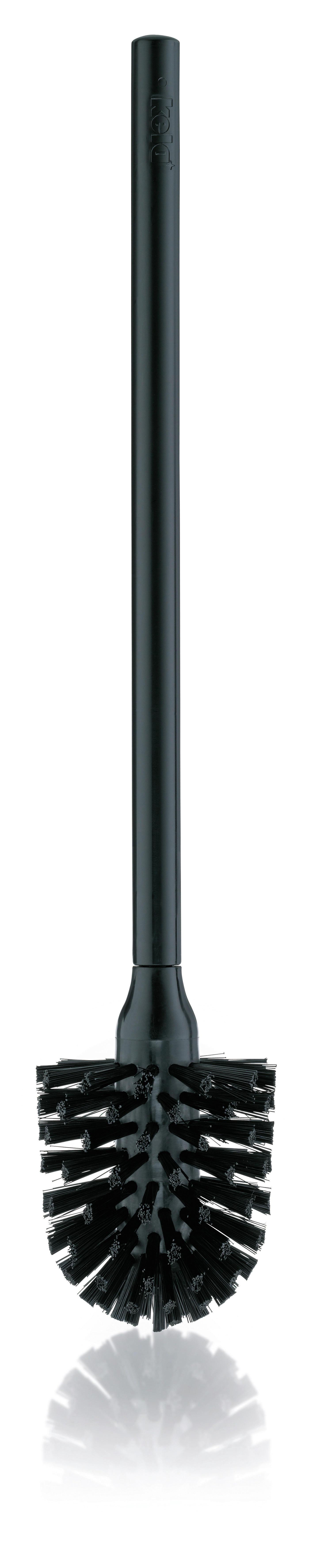 WC-BÜRSTE - Schwarz, Basics, Kunststoff (8/42,5cm)