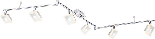 LED-STRAHLER   - Chromfarben, Design, Kunststoff/Metall (145/11/18cm) - Novel