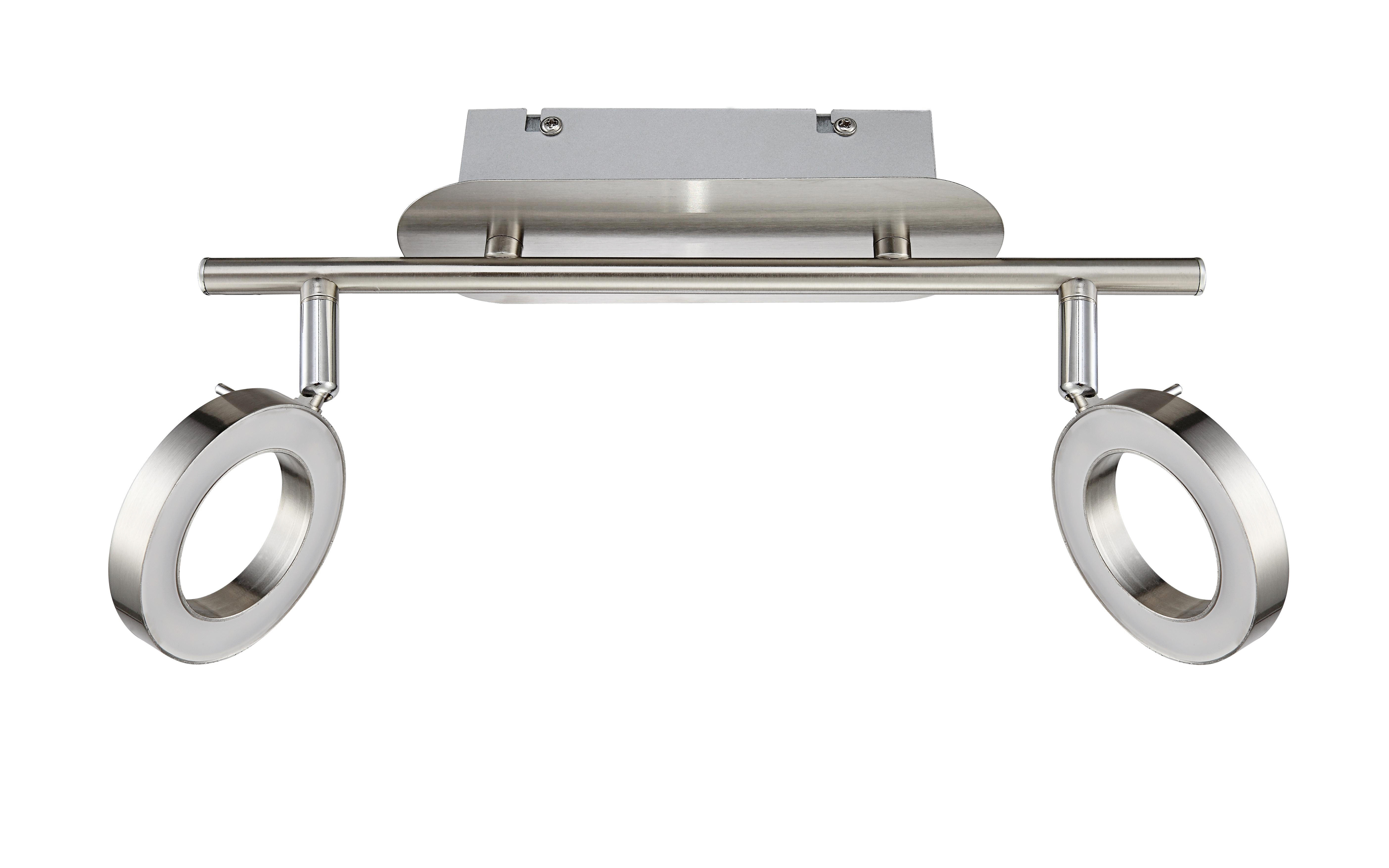 LED SVÍTIDLO - barvy niklu, Design, kov (8/18,5/34cm) - NOVEL