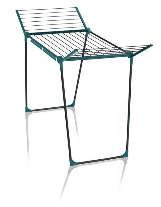 STANDTROCKNER - Grau/Grün, Basics, Kunststoff (95/66,3/6,2cm) - Leifheit