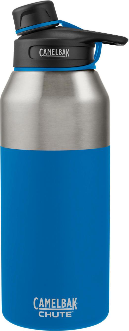 ISOLIERFLASCHE 1,2 L - Blau, Design, Metall (1,2l)
