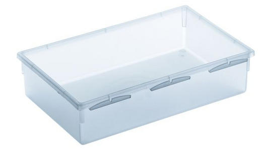 AUFBEWAHRUNGSBOX 23/15/5 cm - Klar, Basics, Kunststoff (23/15/5cm) - Rotho